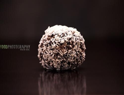 Čokoládové koule s kokosem