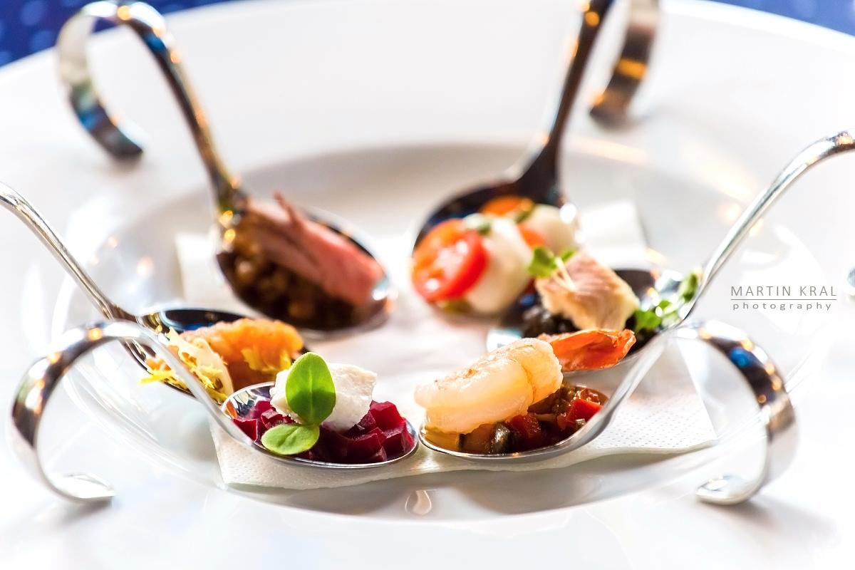 Fotografie jídla a nápojů pro restaurace a hotely