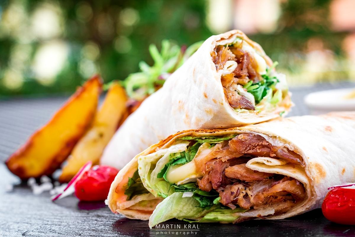 Fotografie jídla a nápojů pro restaurace a hotely | Wrap