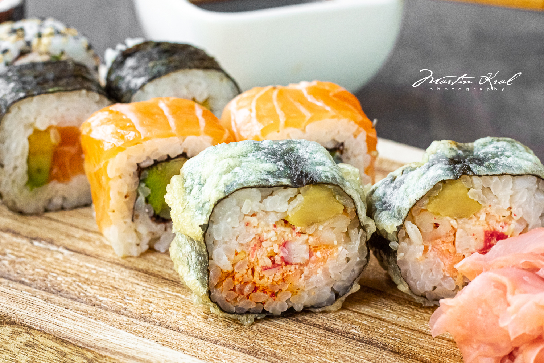 SUSHI - fotografie jídla - fotograf pro restaurace a hotely