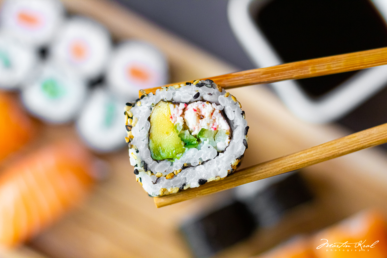 Sushi - fotografie jidel