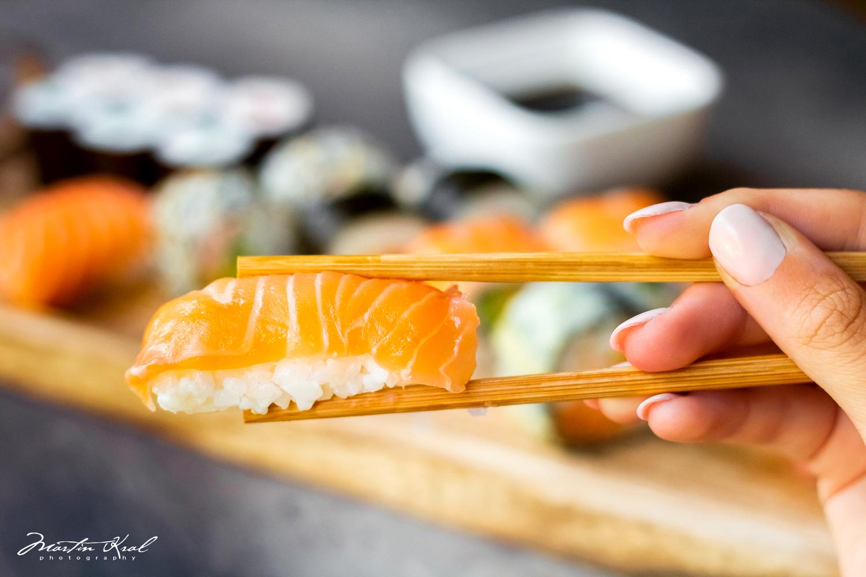 SUSHI - NIGIRI - fotografie jídla - fotograf pro restaurace a hotely