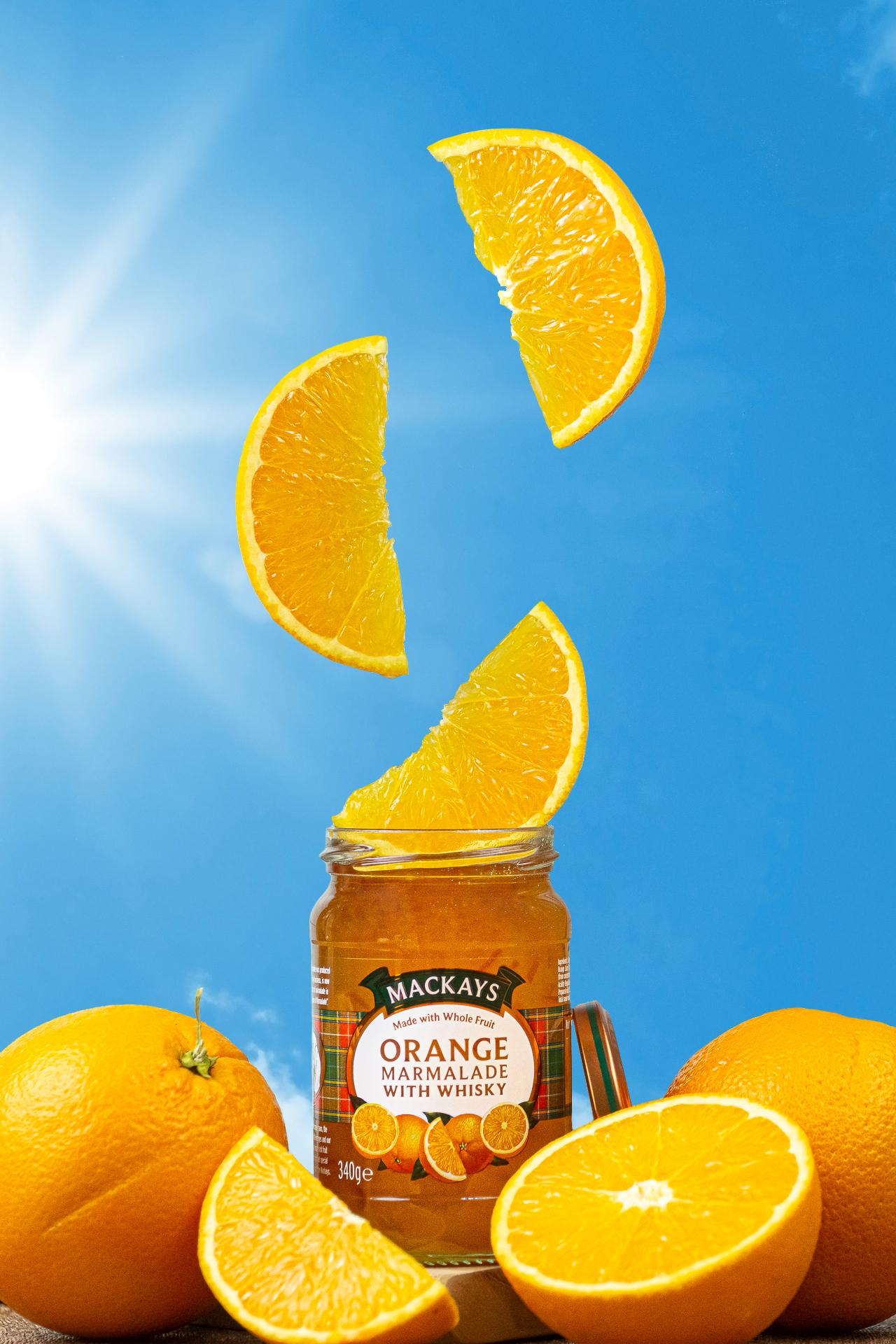 Pomerančová marmeláda s Whisky | Food photography Martin Král