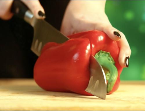 Food Video – Salát s mangem