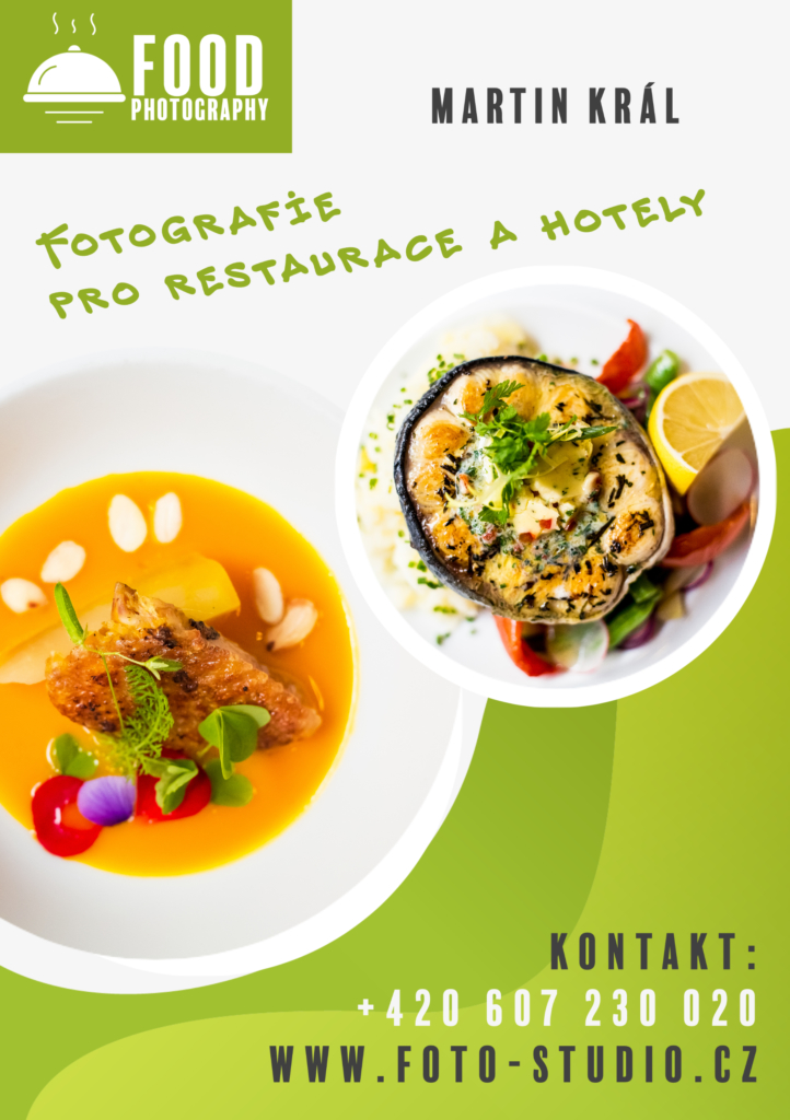 Fotografie pro restaurace a hotely